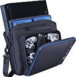 Estuche de transporte para PS4, nuevo estuche de viaje para almacenamiento, bolso de hombro protector de PlayStation para PS4 Consola y accesorios del sistema delgado PS4