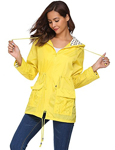 Meaneor Blusa para Mujer XXL Amarillo
