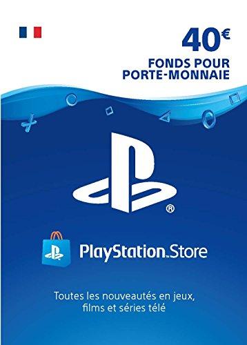 Carte PSN 40 EUR | Compte français | Code PSN à télécharger