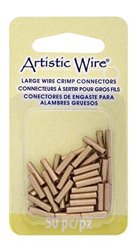 Artistic Wire - Conectores de engarzado de alambre grande