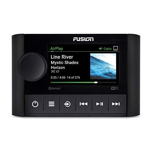 Fusion Apollo SRX400, Marine Zone Stereo with Built-in Wi-Fi, a Garmin Brand