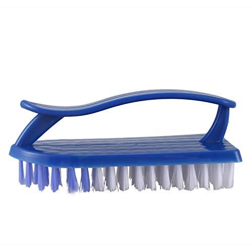 Cepillo de limpieza - TOOGOO(R) Herramienta de limpieza de cepillo de friega de cerdas de zapatos y ropa de plastico