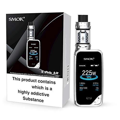 Smok X-PRIV Starter Kit 225W TFV12 Prince Tank 2ml (Cromo) Senza Nicotina