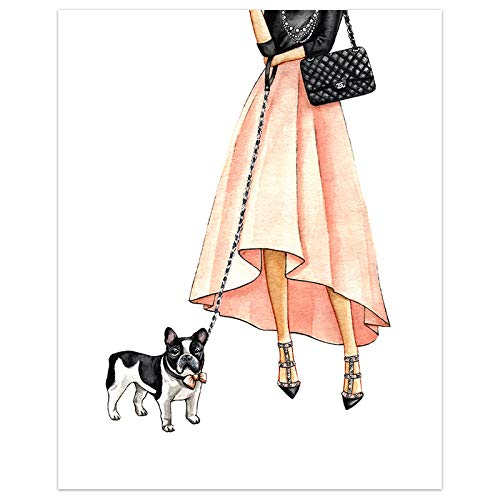 oioiu Modeplakat erröten rosa Lippenstift Wandkunst Parfümdruck Leinwand Geschenkeladen Schuhe Wandbild Moderne Mädchen Schlafzimmer Shop Dekoration