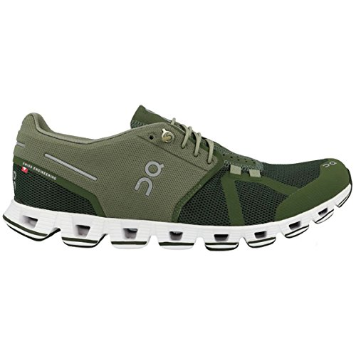 on Running Mens Cloud Forest Jungle Mesh Trainers 40.5 EU