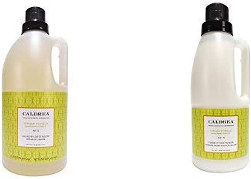 売店 アウトレットセール 特集 Caldrea Laundry Set Ginger Pomelo ct: 2 64 Detergent