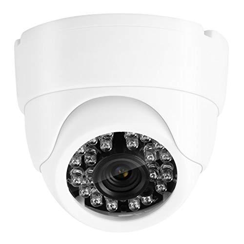 Voluxe Cámara de vigilancia de diseño profesional, carcasa de plástico ABS, multifunción, 1080p, alta definición, cámara de vigilancia para exteriores (regulación europea)