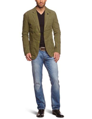 Tommy Hilfiger Page Blazer Americana, Verde (Olive Green 309), S para Hombre