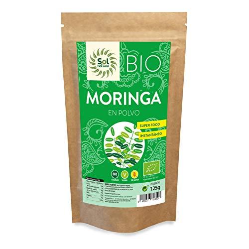 Solnatural Moringa En Polvo Bio 125G 300 g
