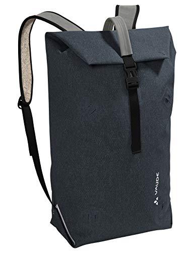 VAUDE Taschen Wolfegg, Nachhaltig innovativer Rucksack für den modernen Alltag, 24l, Huckepack-Funktion mit Egg, phantom black, one Size, 141446780
