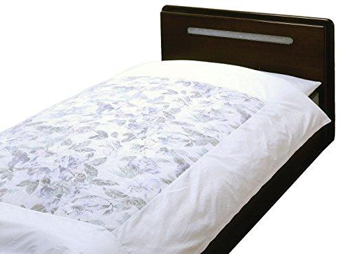 横浜寝具工場 200本ブロード 日本製 掛け布団カバー ベビー 肌掛け 110×135cm ホワイト