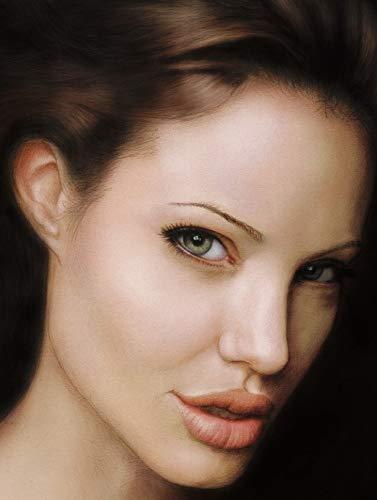 CANVAS Angelina Jolie Art Print POSTER