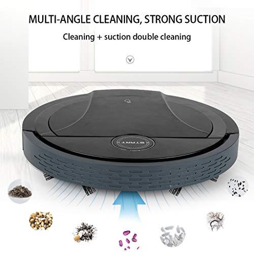 Jesaisque Robot Vacuum Cleaner - Black
