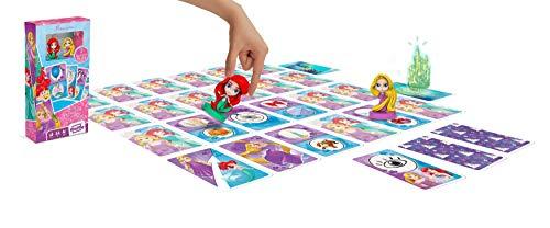 Disney Les Contes des Princesses - Jeu de Cartes avec figurines Ariel la Petite Sirène et Raiponce