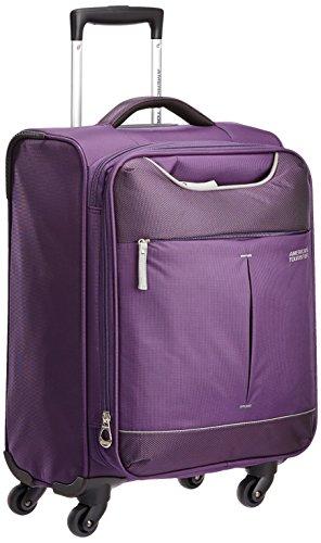 [アメリカンツーリスター] スーツケース スカイ スピナー 55/20 TSA 機内持ち込み可 保証付 35L 55 cm 2.4kg パープル/グレイ