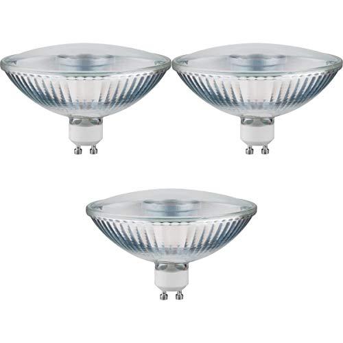 Preisvergleich Produktbild Paulmann 3er Pack 285.14 LED QPAR111 4W GU10 230V Warmweiß 24° 28514 Leuchtmittel Lampe
