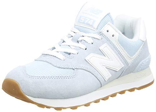 New Balance 574 Pastel Pack, Zapatillas Mujer, Azul (UV GLO), 40 EU