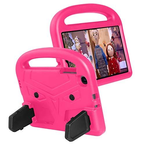 QiuKui Tab Funda para Samsung Galaxy Tab A 8.4 2020, Caja Linda de los niños Funda de Espuma EVA a Prueba de Golpes para Samsung Galaxy Tab A 8.4'2020 SM-T307 T307 (Color : Rose Red)