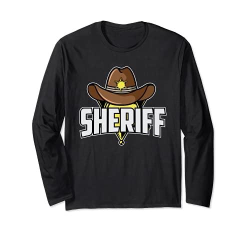 Traje de sheriff I Vaquero e indio I Occidental I Sheriff Manga Larga
