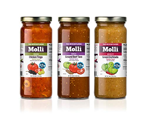 Mexican Simmer Sauces   Plant-based   Gluten-Free   NON-GMO   3-Pack
