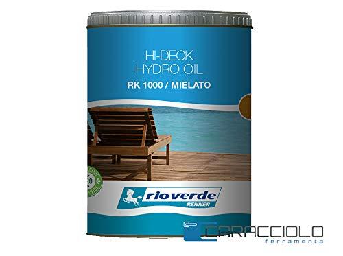 RK 1000 HYDRO OIL HI-DECK PER ESTERNI MIELATO LT.2,5 - OLIO PER DECKING