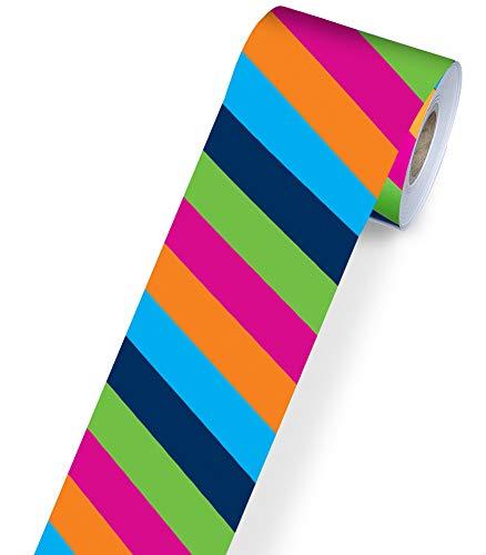 Carson-Dellosa Colorful Stripes Border (108217)