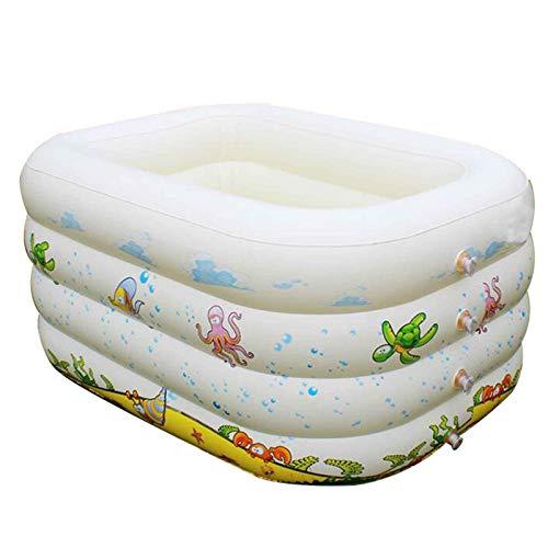 LYYAN Piscina Inflable para Bebés, Piscina Infantil Plegable para Niños Interior Y Exterior Centro De Juegos Acuáticos para Niños/Niñas/Niños