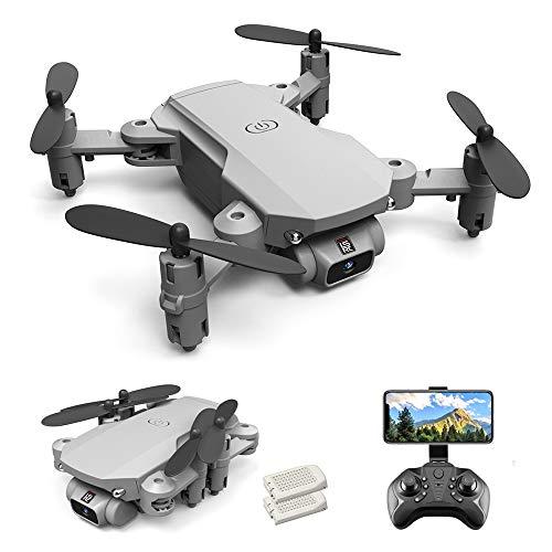 GoolRC LS- MIN Mini Drone RC Quadcopter 480P Cámara 13mins Tiempo Vuelo 360 ° Flip 6- Axis Gyro Foto Video Pista Vuelo Altitud Control de Retención Remoto sin Cabeza Drone para Niños Adultos 2 Baterías