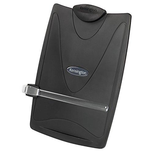 Kensington InSight® graphit Desktop Manuskripthalter mit Dokument Clip (K62411