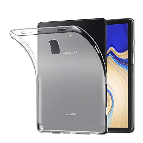 Samsung Galaxy Tab S4 10.5 Hülle, AVIDET Ultra Dünn Soft Flex Silikon TPU Case für Samsung Galaxy Tab S4 SM-T830 / SM-T835 Tablet PC - Weiß