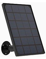 ieGeek Panel solar para cámara WiFi externa batería ZS-GX5, ZS-GX2S
