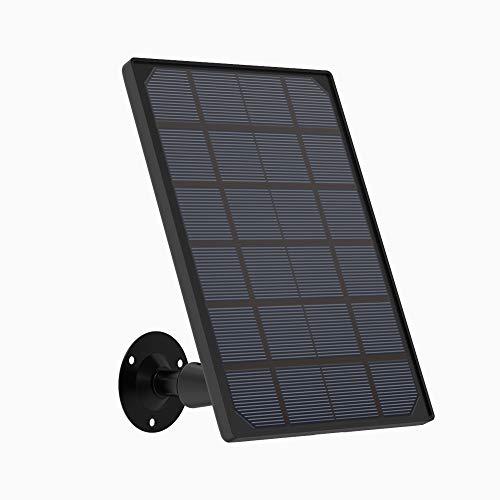 ieGeek Pannello Solare per Telecamera WIFI Interno/Esterno Senza Fili Batteria ZS-GX5, ZS-GX2S, ZS-GX1S