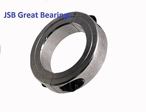 """1"""" Shaft Set Screw Split Steel Collar Stop zinc Plated 1 inch Collars"""