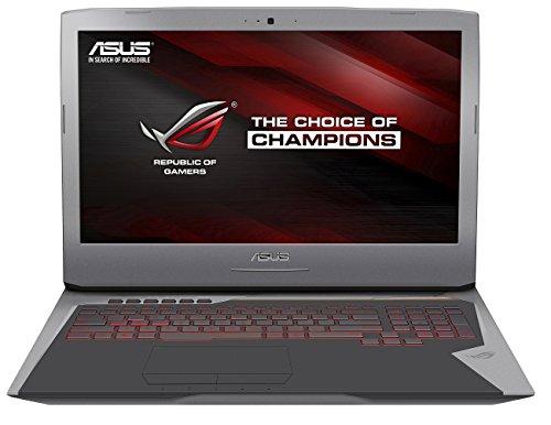 Asus ROG G752VT-GC030T 43,9cm (17,3 Zoll FHD matt) Laptop (Intel Core i7-6700HQ, 8GB RAM, 256GB SSD, 1TB HDD, Nvidia GTX 970M, BluRay, Windows 10 Home)