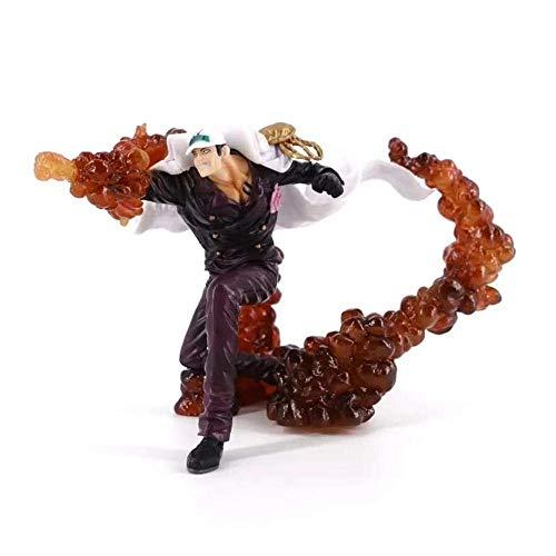 Alto 22 cm de una pieza Tres generales Perro rojo Super Fight Boxed Sculpture Regalo Modelo Ilustraciones Anime