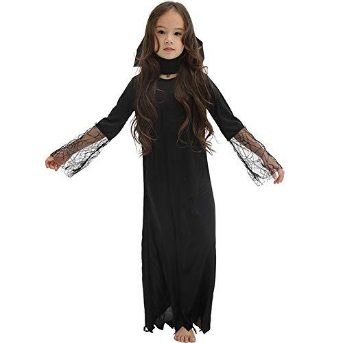 HSKS Halloween kostuum, klein meisje monnik toon set