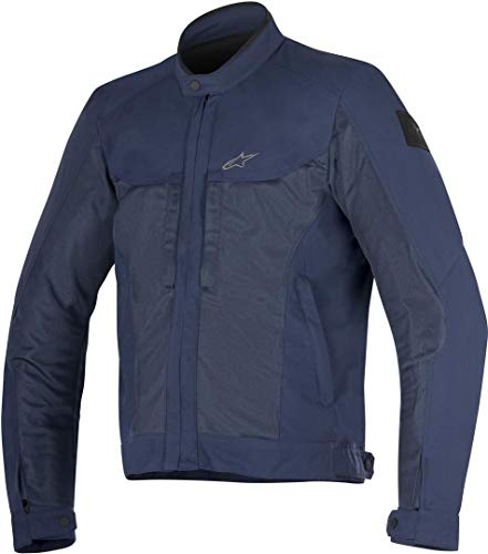 Alpinestars 33088157014-M Chaqueta de moto, Azul, M