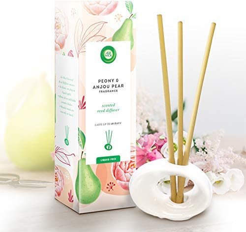 Air Wick Air Freshener Reed Diffuser Peony Anjou PEAR Pack of 1 product image