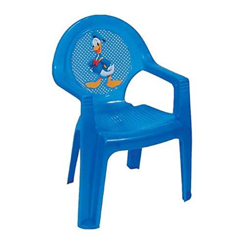 Cello Plastic Chair (Blue)