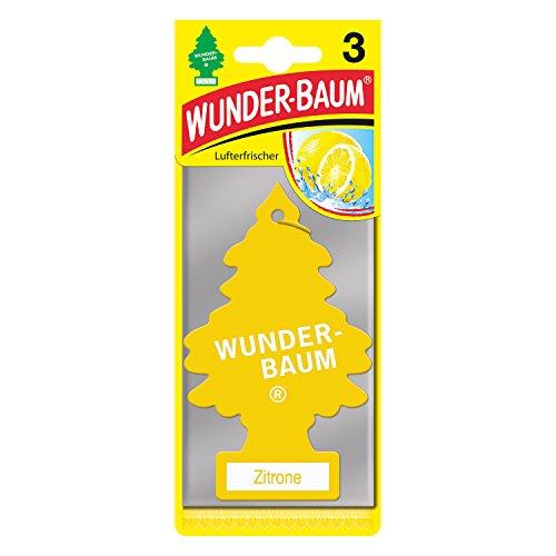 Wunderbaum 178201 Zitrone, 3-er Pack