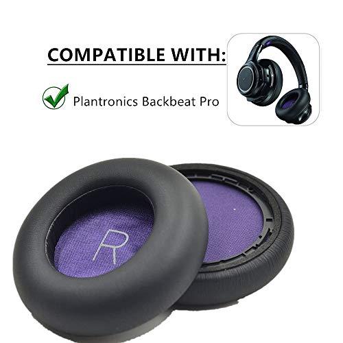 Ydybzb 1 paar vervangende oorkussens voor Plantronics Backbeat Pro, zonder kabels met ruisonderdrukking