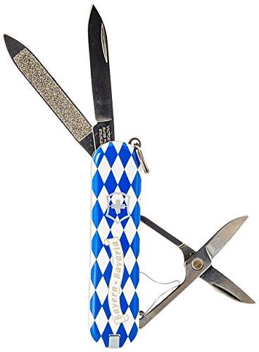 Victorinox Classic Taschenmesser, 7 Funktionen, Schere, Nagelfeile mit Nagelreiniger, raute