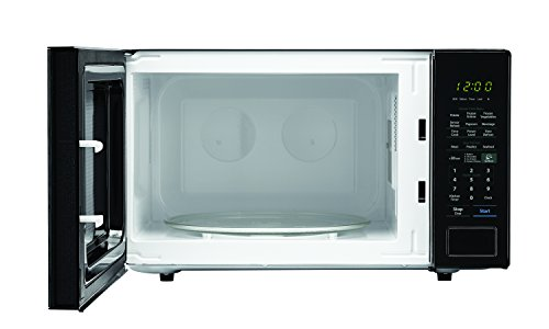 SHARP Black Carousel 1.4 Cu. Ft. 1000W Countertop Microwave Oven (ISTA 6 Packaging), Cubic Foot, 1000 Watts