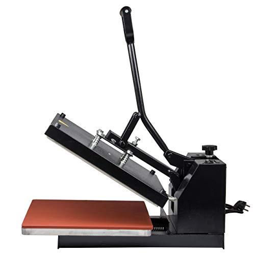 HobbyCut H001-S Transferpresse 38cm x 38cm Textilpresse 1800 Watt - 6