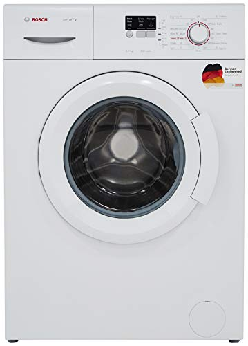 Bosch 6 kg Fully-Automatic Front Loading Washing Machine (WAB16060IN, White, Inbuilt Heater)