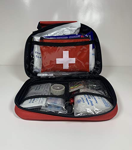 The Best First Aid Kit 150+ Pieces, Home Auto Work Travel Sports for The Money