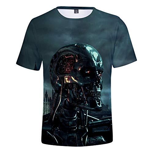 Terminator: Dark Fate Unisex T-Shirt 3D Printed T-shirt, 8 Designs