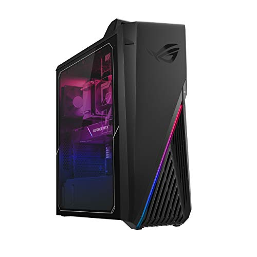 ROG Strix G15CK Gaming Desktop PC, Intel Core i7-10700KF, GeForce RTX 2070 Super, 16GB DDR4 RAM, 512GB SSD, Wi-Fi 6, ROG Strix Flare Keyboard & Gladius II Mouse, Windows 10 Home, G15CK-BS772