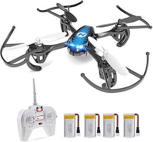 Holy Stone Easy Mini Drone for Kids & Adults, RC Nano Quadcopter HS170 with 4 Batteries