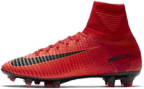 Nike Unisex Mercurial Superfly V DF FG Fußballschuhe, Rot (rot rot), 36.5 EU